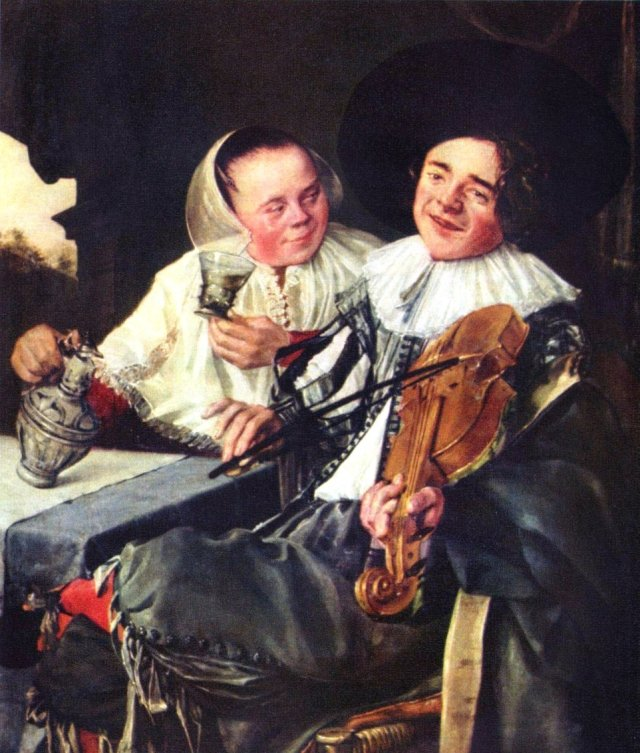 The Merry Company by Judith Leyster (1630)