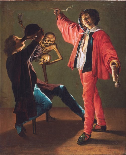 The Last Drop (The Gay Cavalier) by Judith Leyster (c.1639)