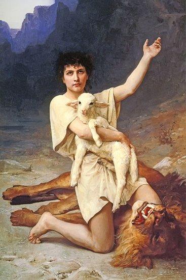 The Shepherd David by Elizabeth Jane Gardner (1895)
