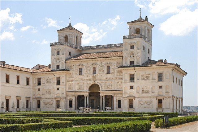 Viila Medici, the French Academy in Rome