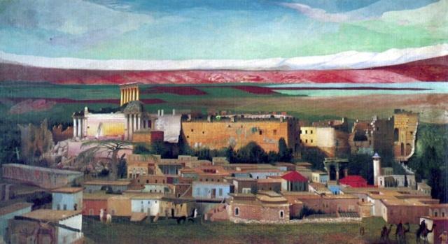 Baalbek by Csontváry (1905)