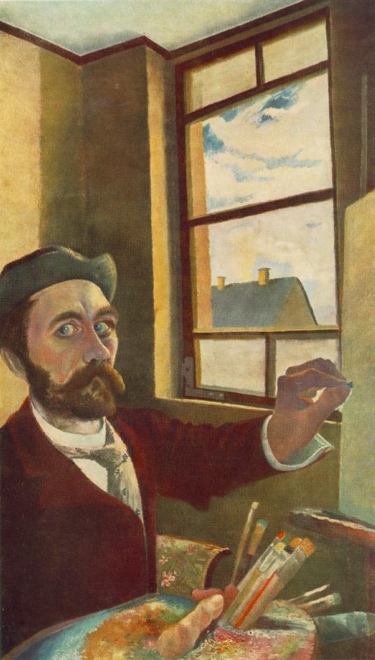 Self portrait by Csontváry (c.1900)