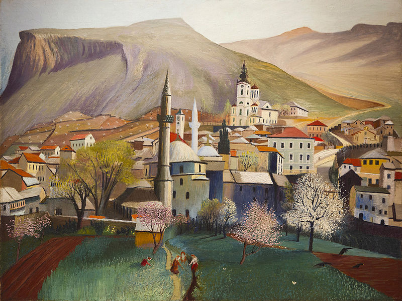 Springtime in Mostar by Csontváry (1903)