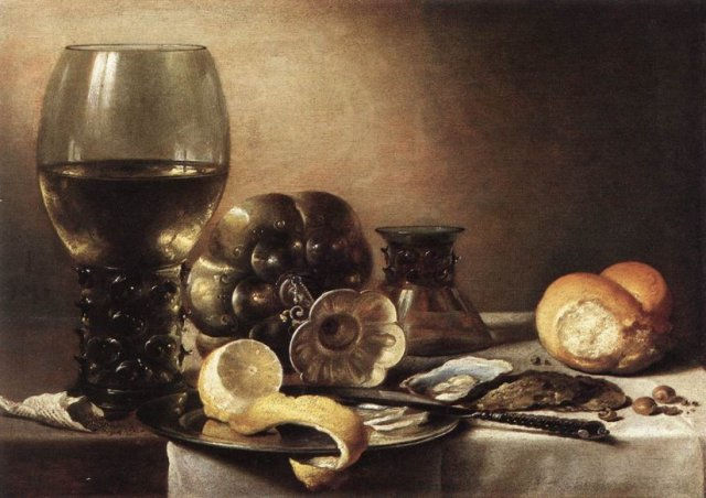 Still Life  by Pieter-Claesz