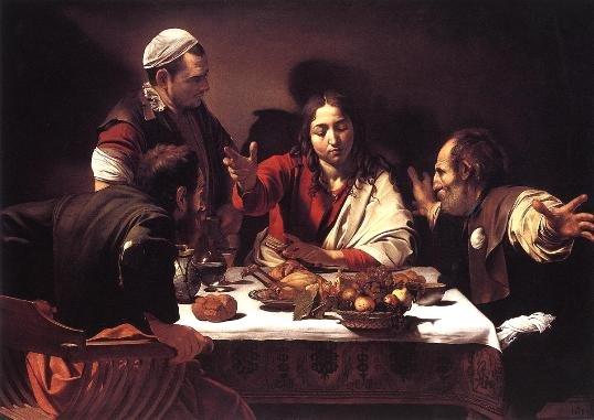 Supper at Erasmus by Caravaggio