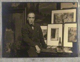 Sydney Lee by Walter Benington (c 1920)