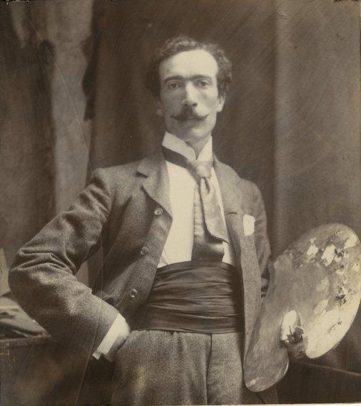 Sydney Lee a photograph (1897)