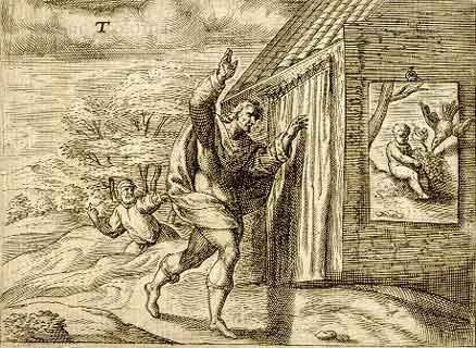 The competition between Zeuxis and Parrhasius