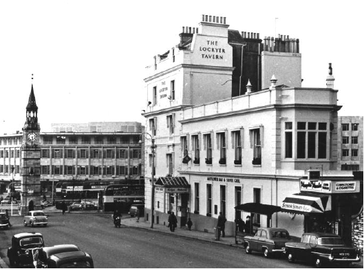 The Lockyer Tavern,    (c.1960) courtesy PWDRO, copyright Plymouth Library Services,
