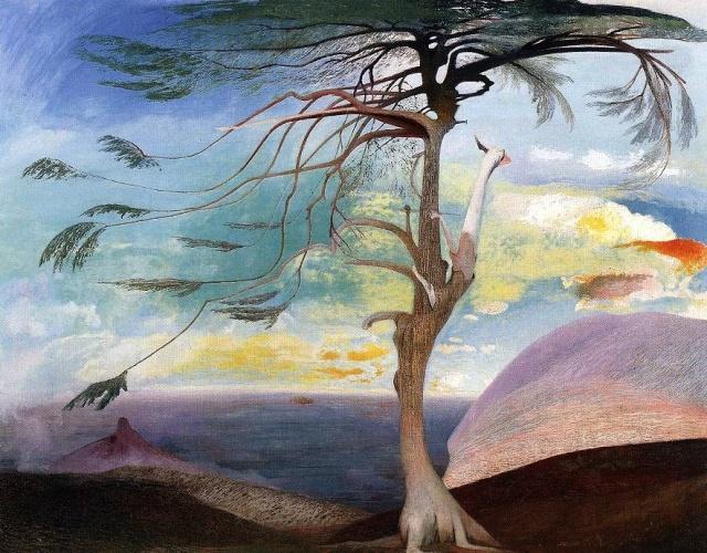 The Solitary Cedar by Csontváry (1907)