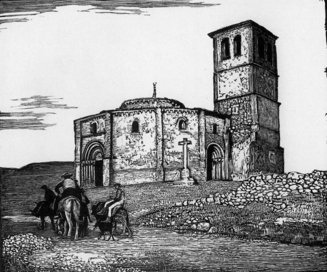 The Templars' Church, Segovia by Sydney Lee (1907)