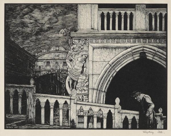 Venetian Merchant by Sydney Lee (1928)