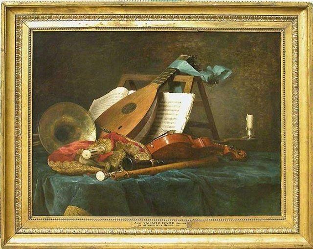 Attributs de la musique by Anne Vallayer-Coster (1770)