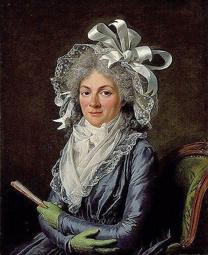 Madame de Genlis by Adelaide Labille-Guiard (1780)