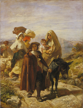 Peasants of the Béarn by Roqueplan (1846)