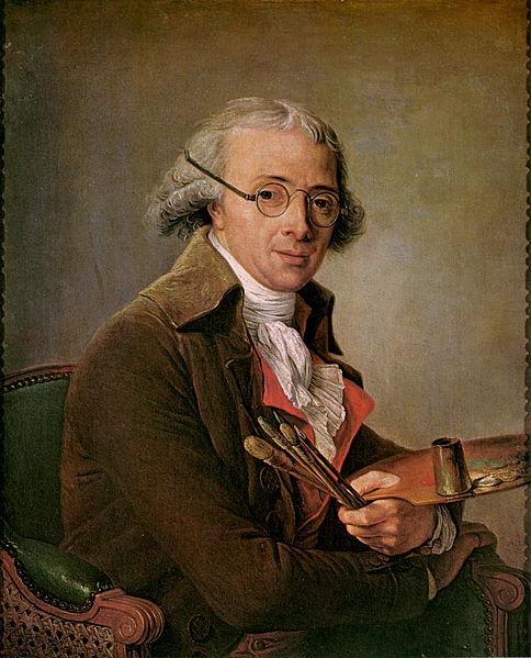 Portrait of François André Vincent by  Adélaïde Labille-Guiard (1795) Louvre, Paris