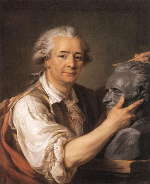 The Sculptor Augustin Pajou by Adélaïde Labille-Guiard (1783)