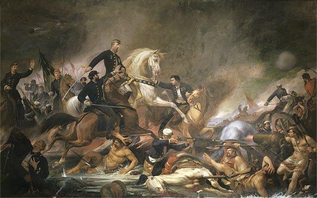 Batalha de Campo Grande by Pedro Américo (1871)