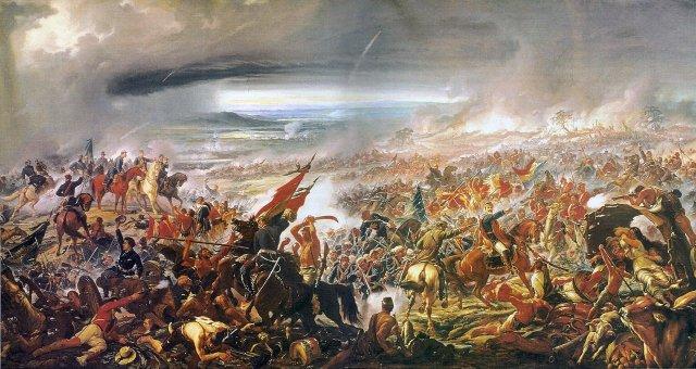 Battle of Avaí by Pedro Américo (1877)