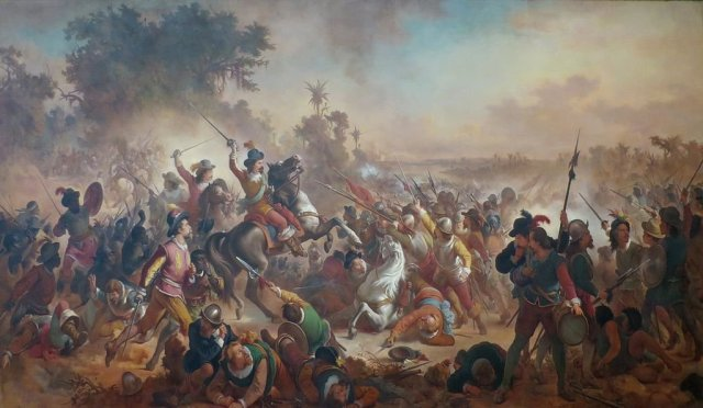 Battle of Guararapes by Victor Meirelles (1879)