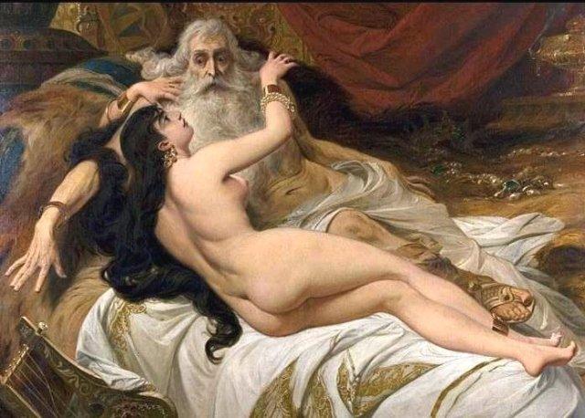 David and Abishag by Pedro Américo (1879)