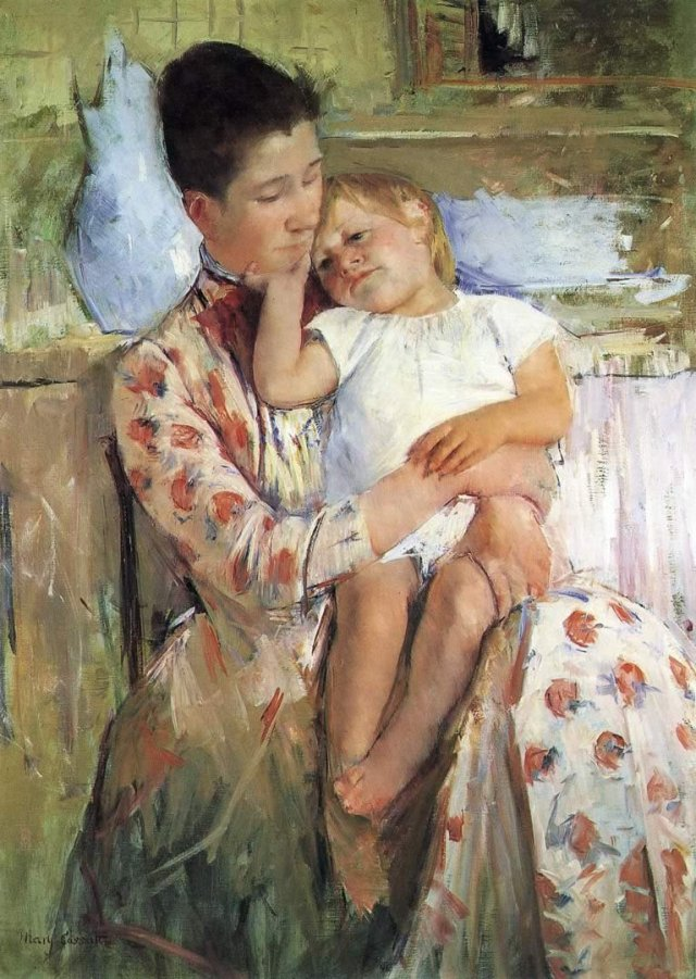 Emmie and her Child by Mary Cassatt (1889)