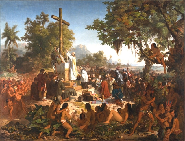 First Mass in Brazil by Victor Meirelles (1861)