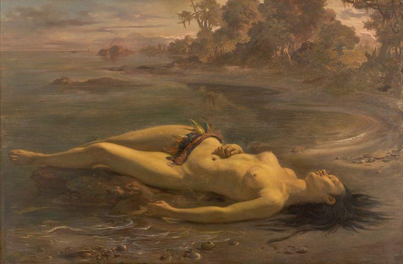 Moema by Victor Meirelles (1866)