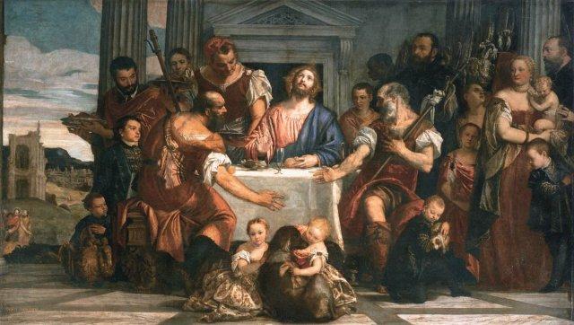 Supper at Emmaus by Veronese (c. 1555)