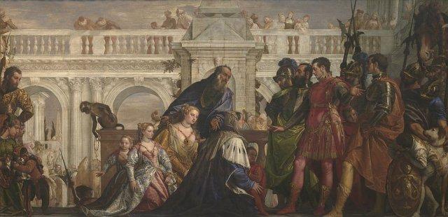 The Family of Darius before Alexander by Veronese (1565-7)
