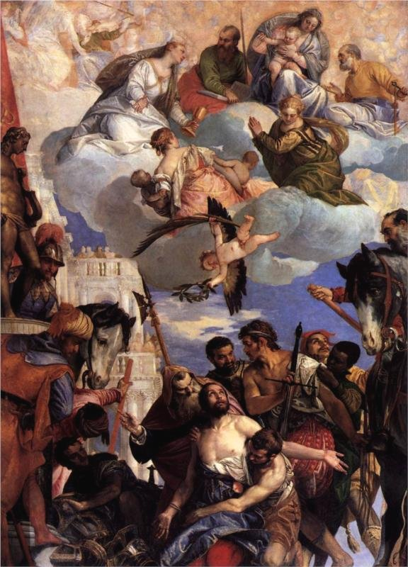 The Martyrdom of Saint George by Veronese (c. 1565)