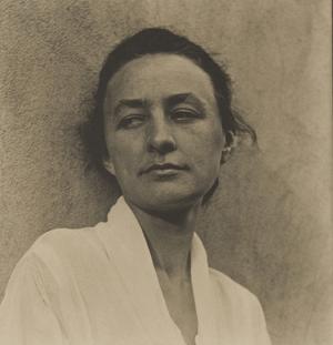 Georgia O'Keeffe, aged 30