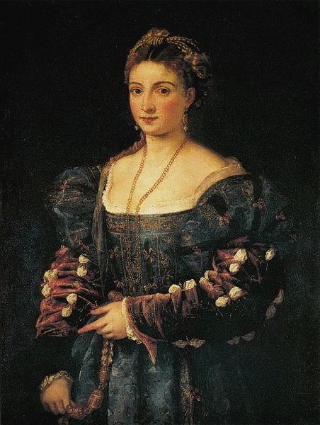 La Bella by Titian (1536)