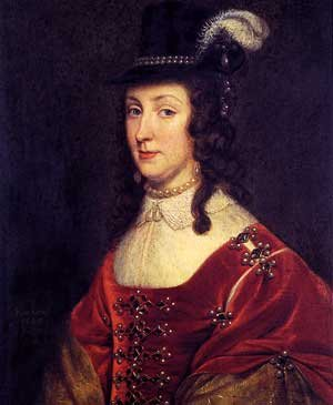 Leonora Christina Ulfeldt by Gerard van Honthorst (1647)