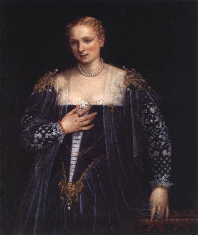 Portrait of a Lady 'La Bella Nani' by Veronese (c. 1560)