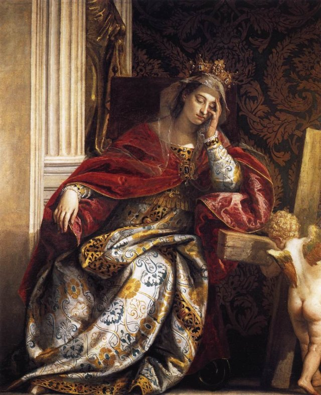 The Dream of Saint Helena by Veronese (c. 1580)  Pinacoteca Vaticana