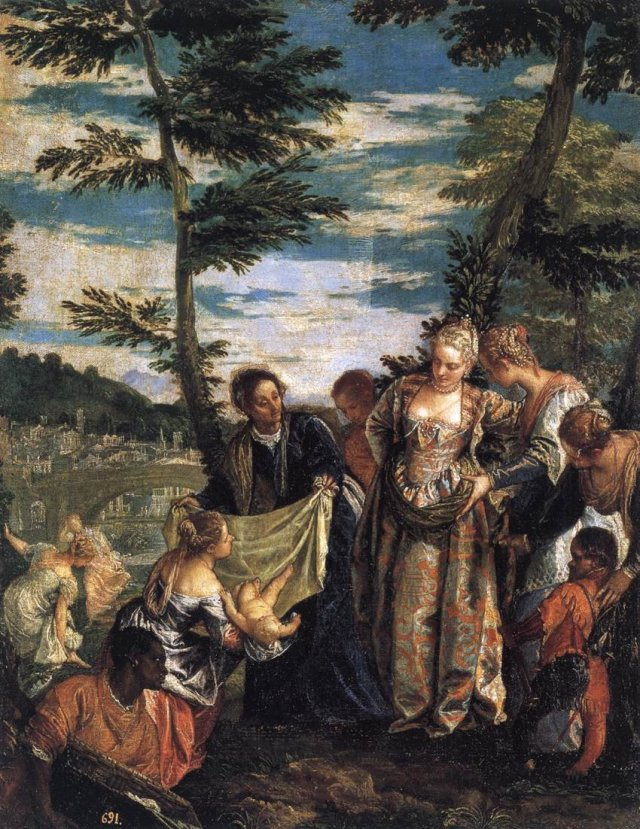 The Finding of Moses by Veronese (c.1580)