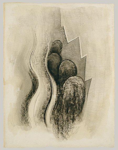Drawing XIII by Georgia O'Keeffe, 1915