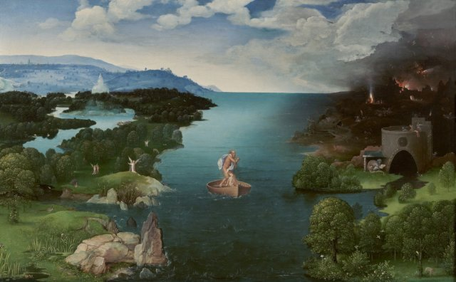 Charon crossing the River Styx by Joachim Patinir (1524)