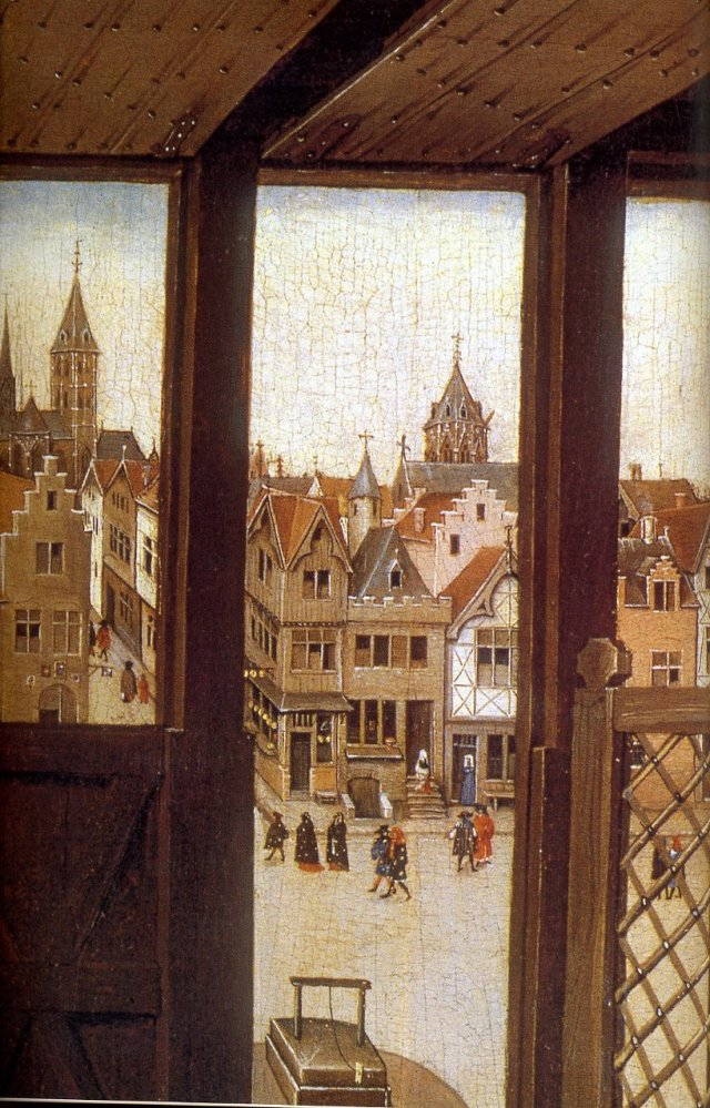 View from window of St Joseph's workshop