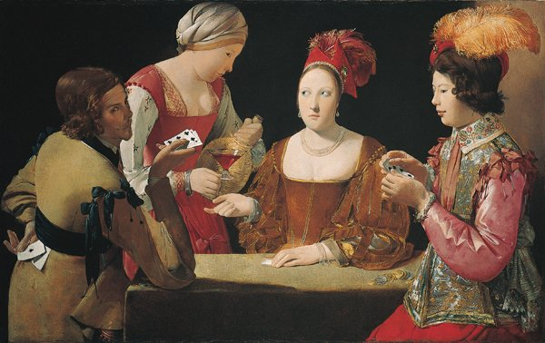 Cheat with Ace of Clubs by Georges de la Tour (c.1634)
