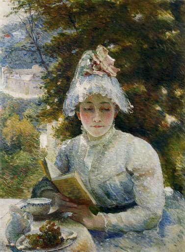 Le Gouter or Afternoon Tea by Marie Bracquemond (1880)