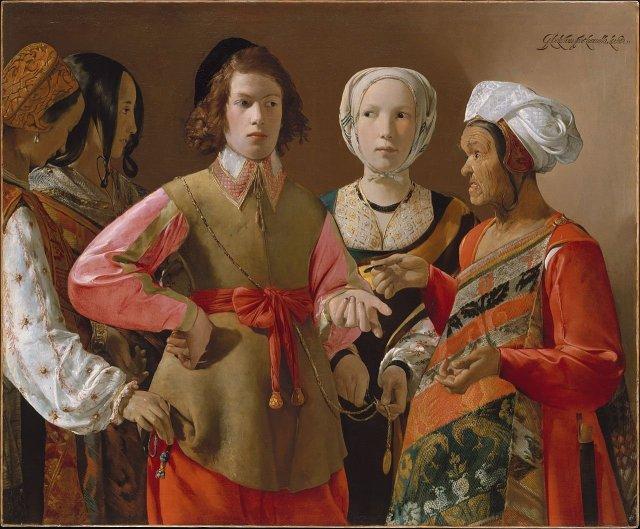 The Fortune Teller by Georges de la Tour (c.1630)