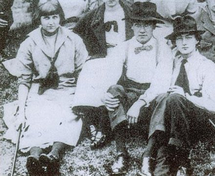 Dora Carrington, CRW Nevinson and Mark Gertler during their time at the Slade School