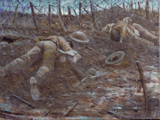 Paths of Glory  by C.R.W. Nevinson (c.1917)