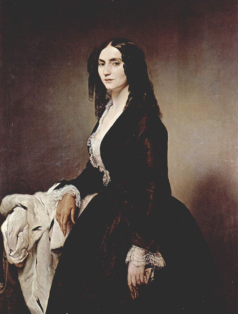 Matilde Juva Branca by Francesco Hayez (1851)