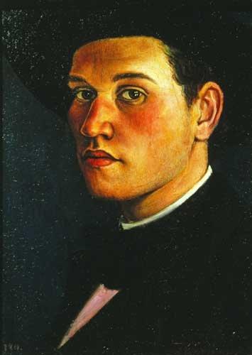 Self Portrait  by C.R.W Nevinson
