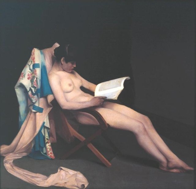 The Reading Girl by Théodore Roussel         (1886–7)