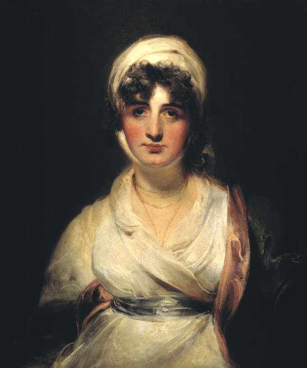 Mrs Siddons as Mrs Haller in 'The Stranger' by Sir Tomas Lawrence