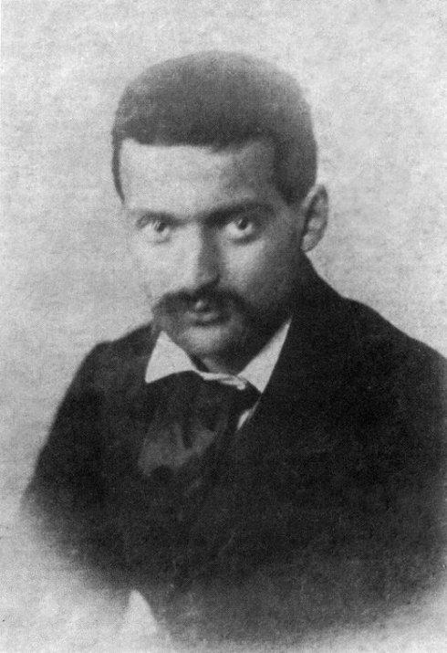 Paul Cézanne aged 22